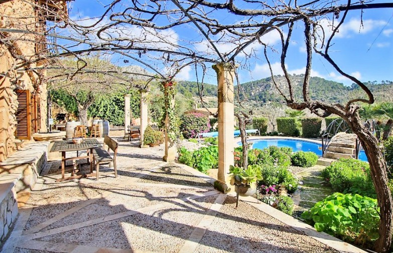 Property for Sale in Sa Coma Near Andratx, Rustic Country House For Sale In Andratx, Mallorca, Spain