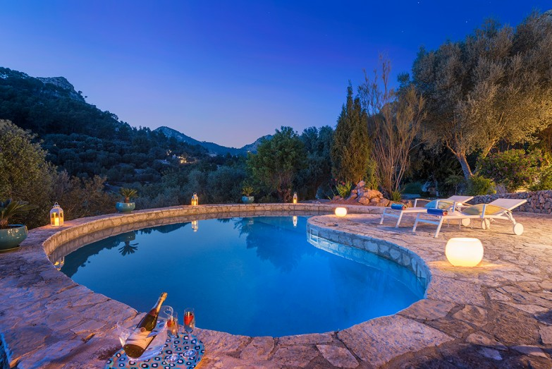 Property for Sale in Authentic Country House With Swimming Pool For Sale Near The Village  Andratx, Mallorca, Spain