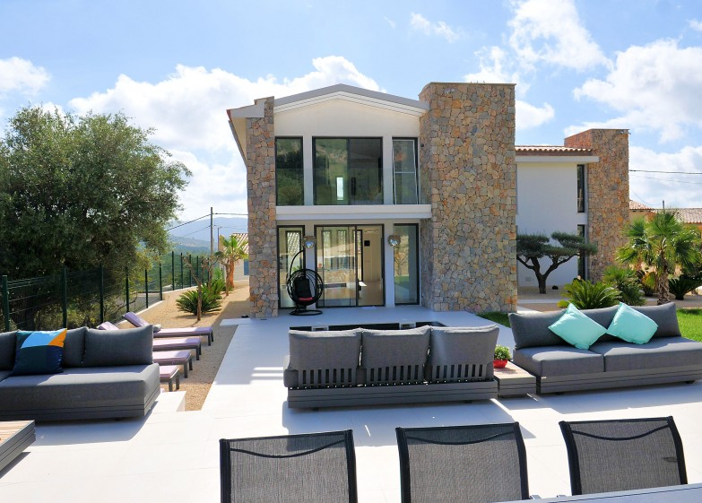 Property for Sale in Capdella, Newly constructed home in Capdella for sale with wow factor views towards Mount Galatzo Capdella, Mallorca, Spain
