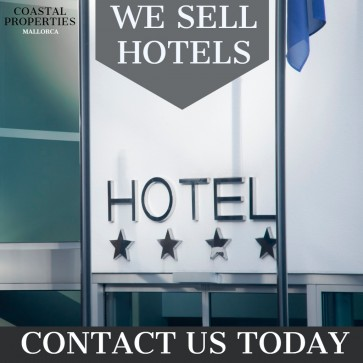 We sell hotels