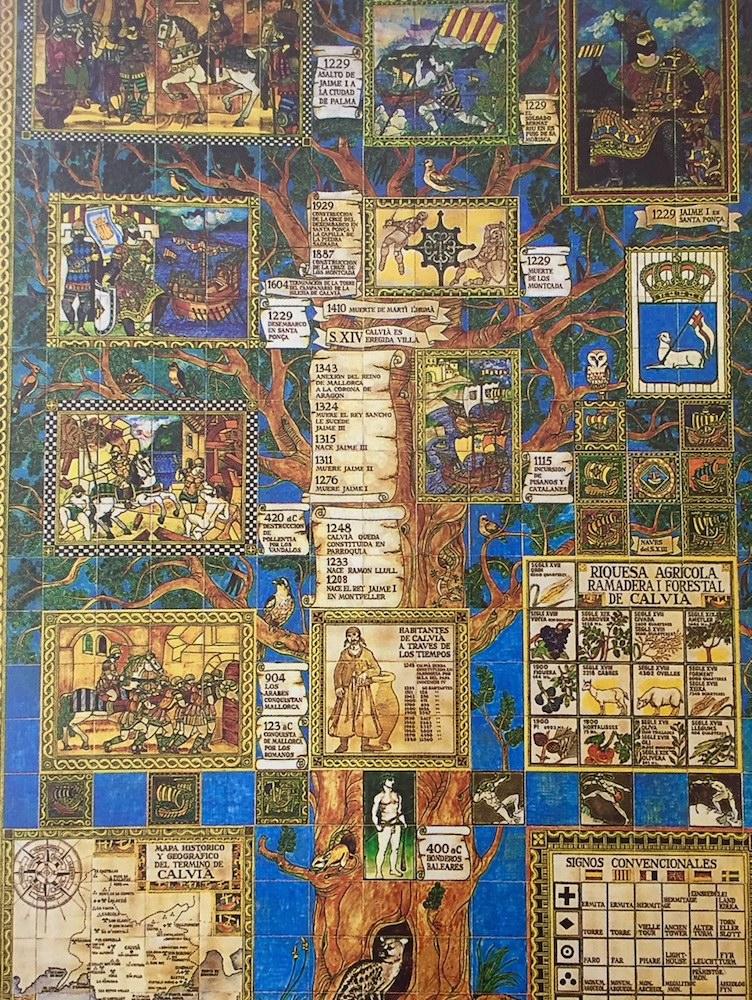 Calvia's history at a glance,