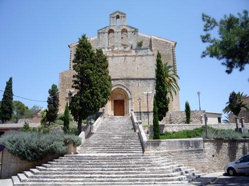 Church In Selva, Mallorca